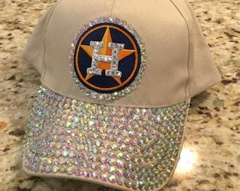 Houston Astros Bling Cap