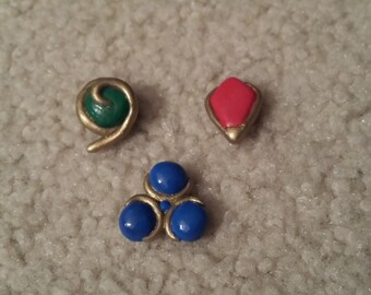 Koriki Emrald, Goron's Ruby, and Zora's Sapphire