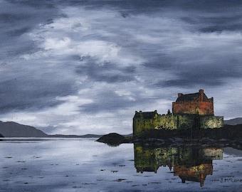 Limited Edition Fine Art Giclee Print Eilean Donan