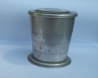 Vintage collapse Cup/pocket cup