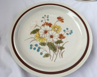 Four Seasons Collection Early Summer Pattern fine Inported Stoneware