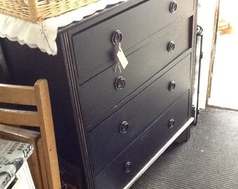 Edwardian 4drawer chest