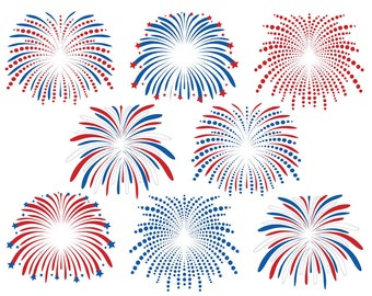Fourth of July Fireworks Clipart, July 4th Clipart, 4th of July Clip Art, Fireworks Clipart, Independence Day Clipart, Fireworks Clip Art,
