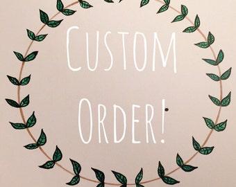 Customer Order (a6 a5 a4 prints)