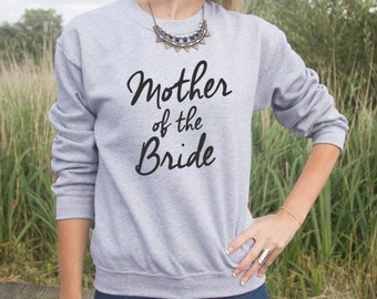 Mother Of The Bride Jumper Sweater Jumper Fashion Wife Wedding Gift Bride Wifey Bachalorette Hen Do Party