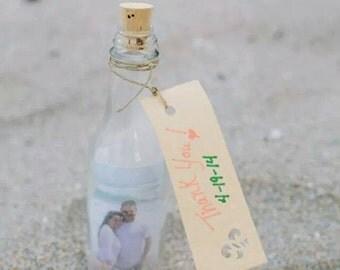 Bottle wedding favor Etsy