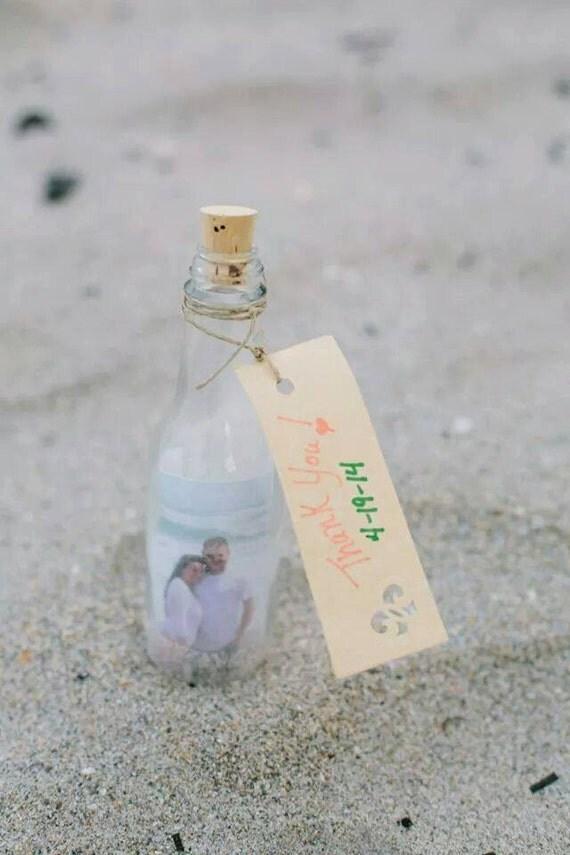 Message In A Bottle Wedding Favor