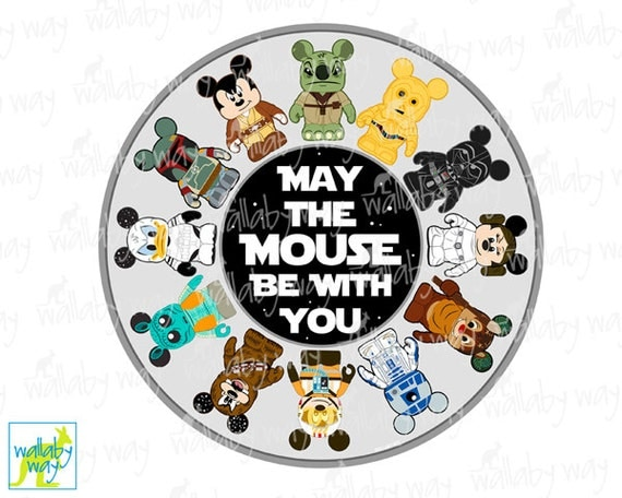 Mickey Star Wars May the Mouse