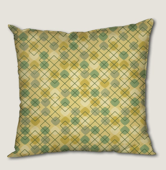 Throw Pillow Covers 25x25 : Pillow cover decorative cushions in Golf Tie Green by HotteCouture