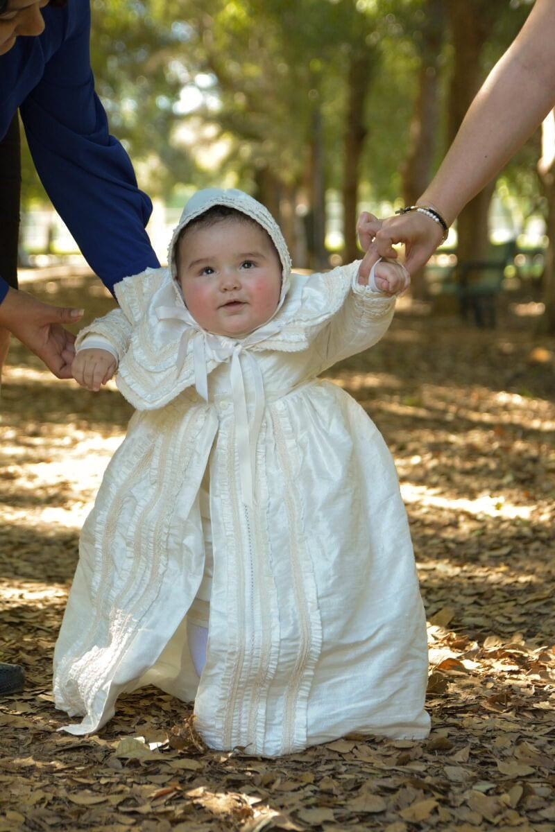 Heirloom Baby Boy Christening Gown Hand Made Baptism By