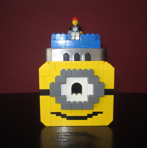 LEGO Minion Themed Birthday Party Decoration Gift