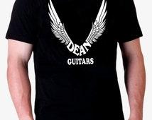 Camiseta hombre DEAN GUITARS T shirt electric guitar