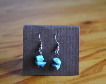 Double stacked Turqouise Earrings