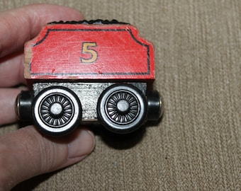 SALE   All Train Pieces on Sale, just email me        James' Tender, Thomas the Train Piece, Magnetic on both Ends