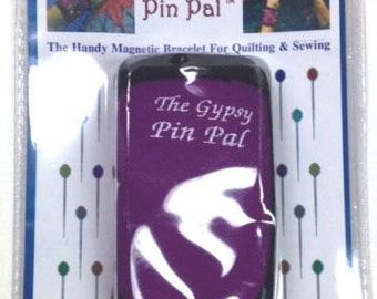 Gypsy PIN PAL Magnetic Pin Bracelet - Fits w/ nylon band and hook/loop close