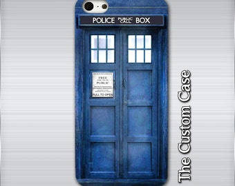 Tardis Iphone Case, Dr Who Phone Case, Tardis Samsung Case, Police Box Phone Case, Iphone 4/5/5c/6/6+/6s, Galaxy S3/S4/S5/S6/S6 Edge/6Edge+