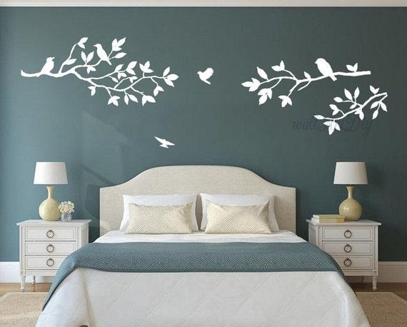 Articles similaires arbre stickers arbre et oiseaux - Fiori in camera da letto ...