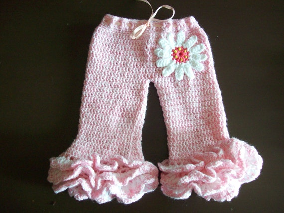 Pretty Pink Pants Crochet Pattern