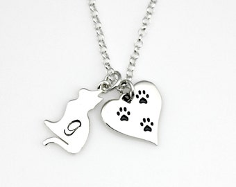 CAT REMEMBRANCE Personalized Memorial Necklace