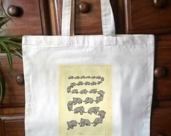 Beautiful Babar tote bag. No.1