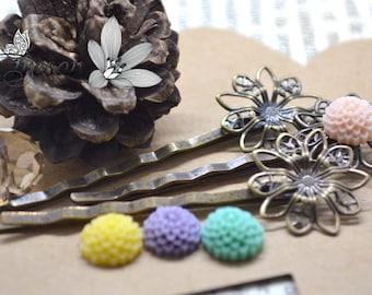 bronze hairpins hair slides hair clips accessories