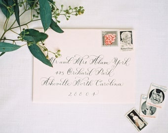 Wedding or Event Calligraphy, Grace script