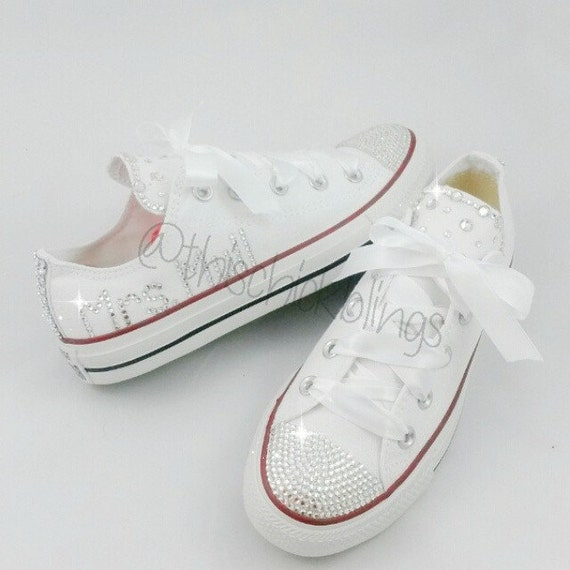 wedding converse by thischickblings on etsy