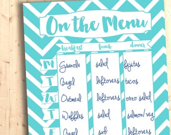 """Meal Plan Printable 