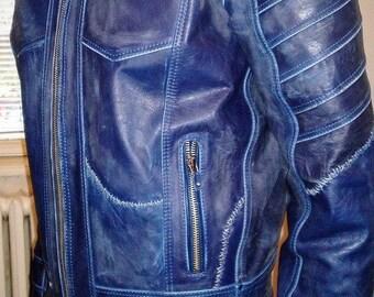 Frankenstein - men's vintage leather jacket (Free shipping)