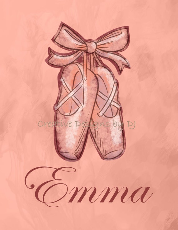 Baby Girl Bedroom Slippers: Ballet Slippers Ballet Shoes Personalized By