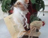 Santa - The Christmas Mouse - Holiday Decoration