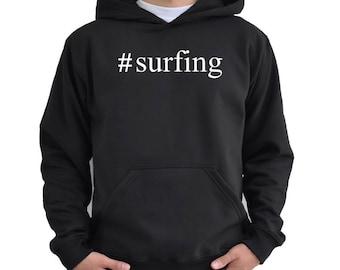 Surfing Hashtag Hoodie Eq0Bagmt1
