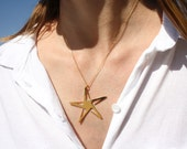Star Necklace - Star pendant, Gold star necklace, Silver star necklace, Star jewelry