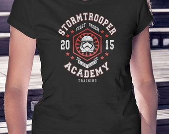 Storm Trooper Academy   Star Wars Women's T-Shirt
