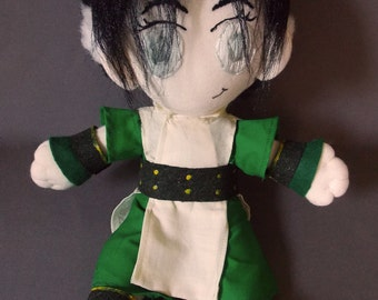 Toph Avatar The Last Airbender Plush Doll Plushie Toy [READY TO SHIP]