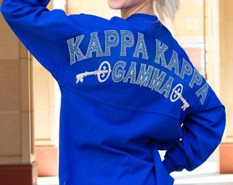 Kappa Kappa Gamma - Fun n' Flair (Greek) Spirit Jersey (J0470152361)