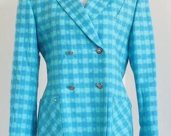 Exclusive ESCADA 80's Jacket/Blazer by Margaretha Ley size 40 L