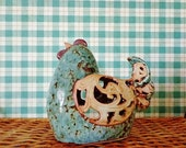 Rustic Rooster Decoration