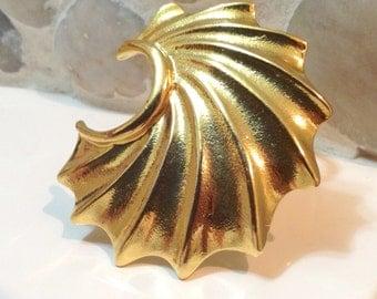 Vintage Gold Tone Vintage Scarf Clip Marked Germany