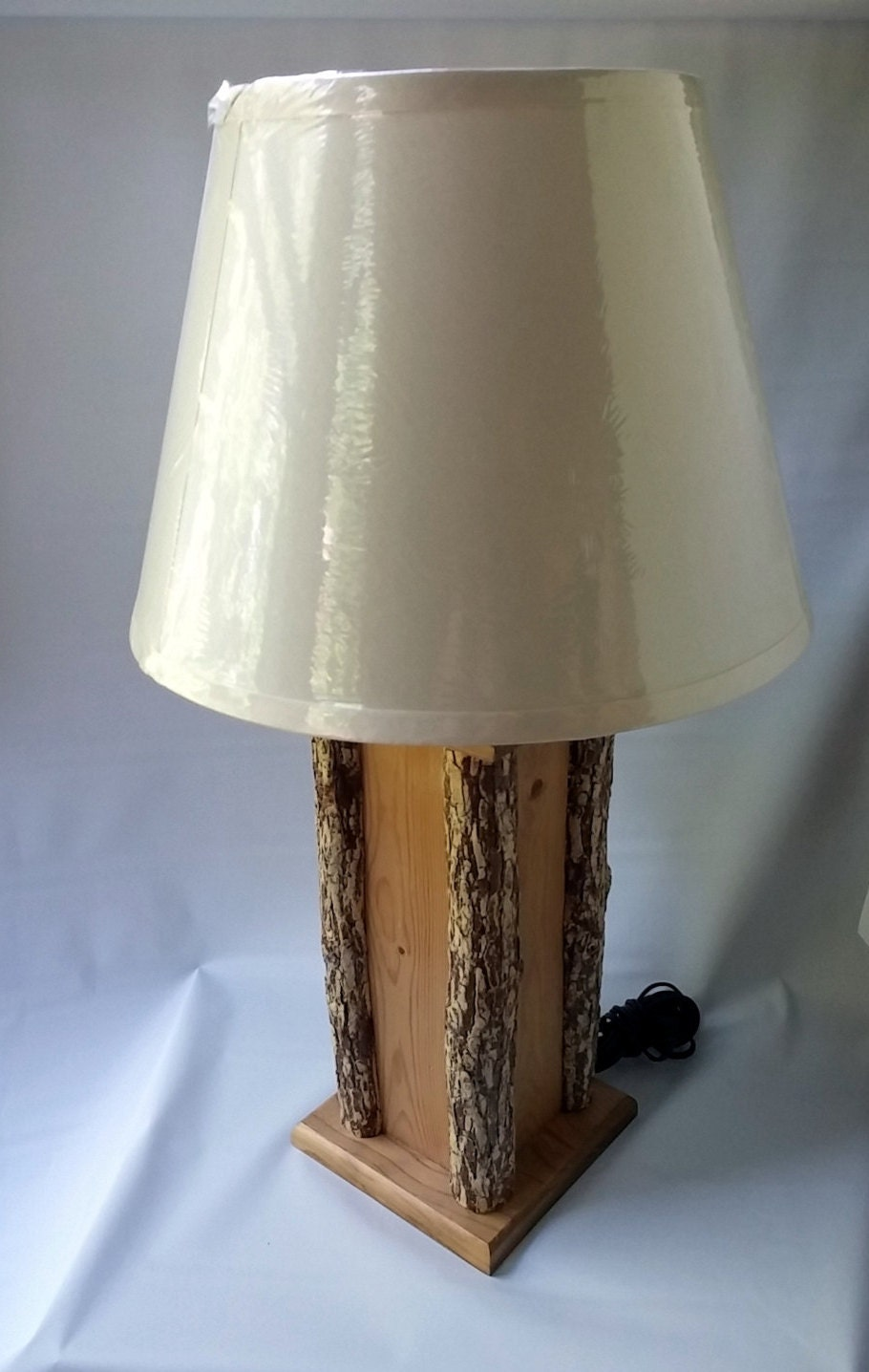 Rustic Table Lamp By WoodByNature On Etsy