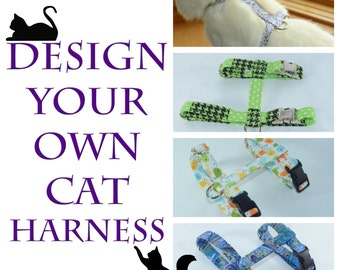 Design Your Own Adjustable Cat Harness