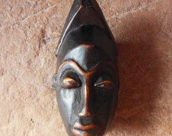 Yaure Baule Passport Mask Cote d'Ivoire African Carved Wood *4