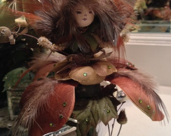 Limited Edition Handmade Fairy Collectible--Woodland Series--Belle