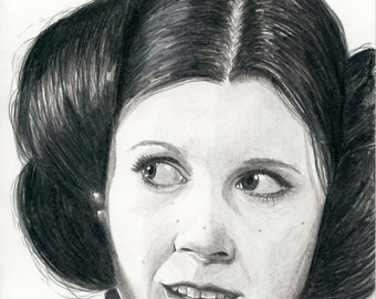 Star Wars Comic #1 Princess Leia Sketch Cover Variant