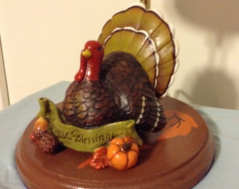 Thanksgiving Turkey Lamp