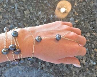 Tahitian Pearl Harem / Hand Chain