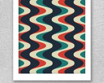 Printable Art, Geometric Art, Mid Century Modern Art, Printable Poster, Modern Print, Geometric Poster, Digital Art Print