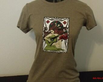 Grateful Dead shirt. Loser shirt. Ladies Loser shirt. Ladies Grateful Dead shirt.