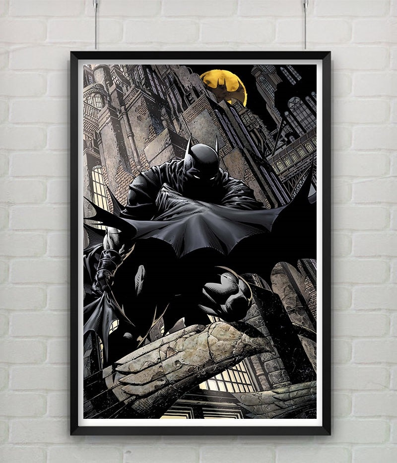 Batman Gotham Knight Home Decor Graphic Poster By