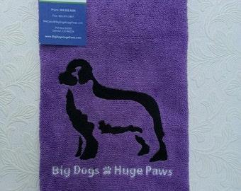 Big Dogs Huge Paws Newfoundland Drool Cloth